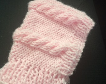 50% OFF, Pink Pixie knit hat, Baby knit hat, baby girl knit hat, newborn knit hat
