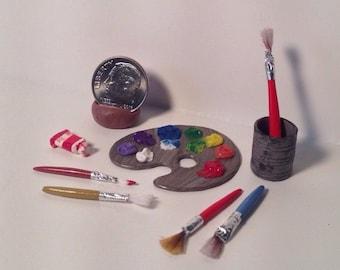 Miniature Artist Set