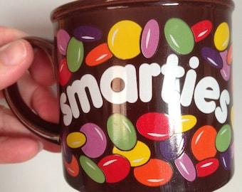 retro Hornsea mug Smarties collectable china mug 1980s