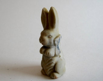 Vintage Bisque Easter Rabbit made in Japan..So Cute for You Easter Collection.