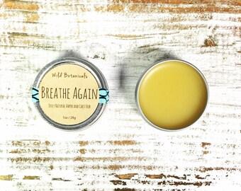 Breathe Again Vapor Rub, Herbal Chest Rub