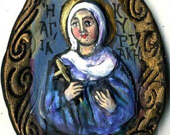 """Saint Kyriaki """"Sunday"""" martyr # 2"""