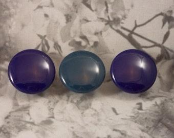"""1-1/2"""" Plain Color Dresser Knobs - Choose Your Color"""