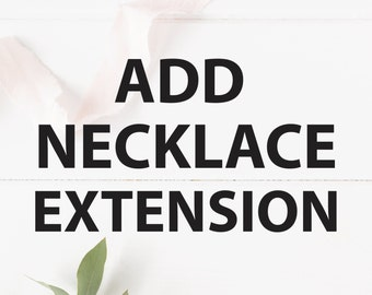 Add Necklace Extension