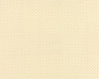 Moda Silver Linings Fabric Cream with Tiny Plus + Signs BTY 42261-12