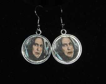 Severus Snape Themed Earrings