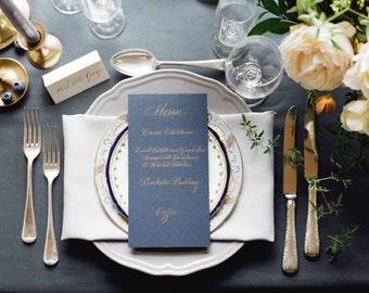 Bespoke wedding calligraphy and stationery design