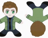Dean Winchester Pocket Plush Fabric Supernatural