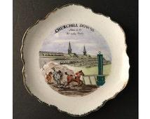 Kentucky Derby, Churchill Downs, Souvenir Plate, Vintage