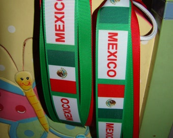 Mexico pony-o scrunchy, cinco de mayo