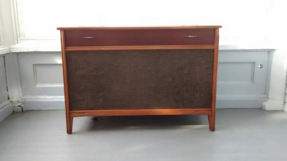 Sale Victrola Rca Victor Radio And Record Player Console