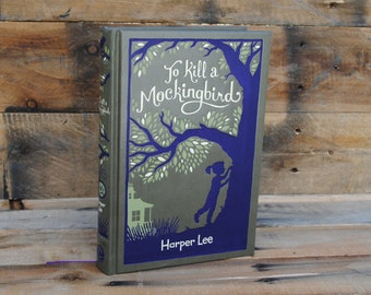 Book Safe - To Kill a Mockingbird - Leather Bound Hollow Book Safe