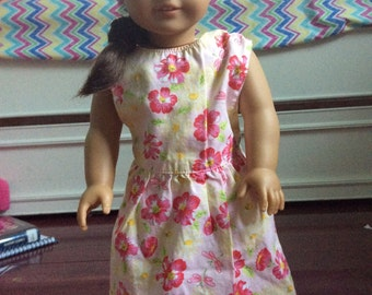 BTS SALE!! American Girl Doll Floral Dress