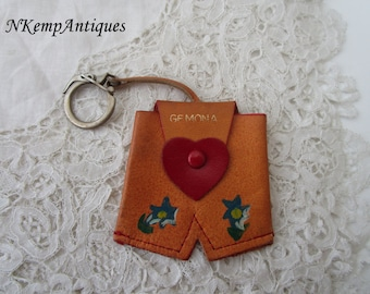 Vintage novelty purse /keyring 1950's