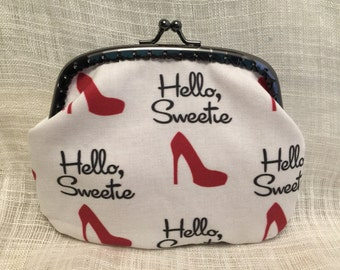 Dr Who Hello Sweetie Coin Purse