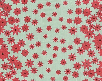 SALE!!! End of bolt, fabric remnant of Christmas Moda fabric - Winter's Lane fabric - Christmas fabric - #16077