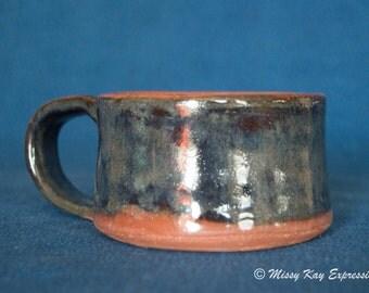 Handmade Ceramic Dish with handle