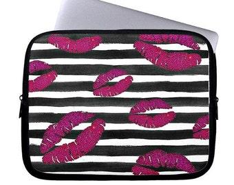 Lips Neoprene Laptop Sleeve, Laptop Cases, Computer Case, Laptop Sleeve, Laptop Bag