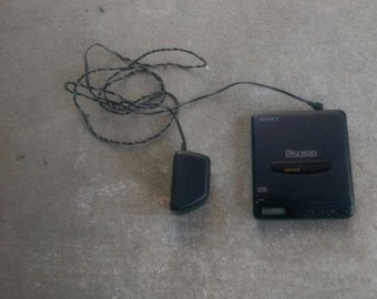 Vintage Sony Walkman with Charging Cord