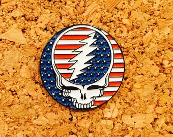 10 pack of 50th grateful dead pin