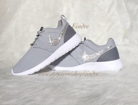7708e135f3c1 Blinged Custom Nike Roshe Run Embellished with Swarovski by Eindre ...