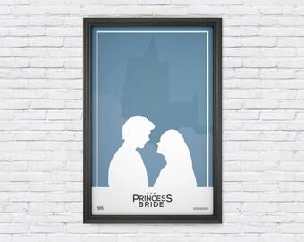 The Princess Bride - Movie Poster Print - Kiss