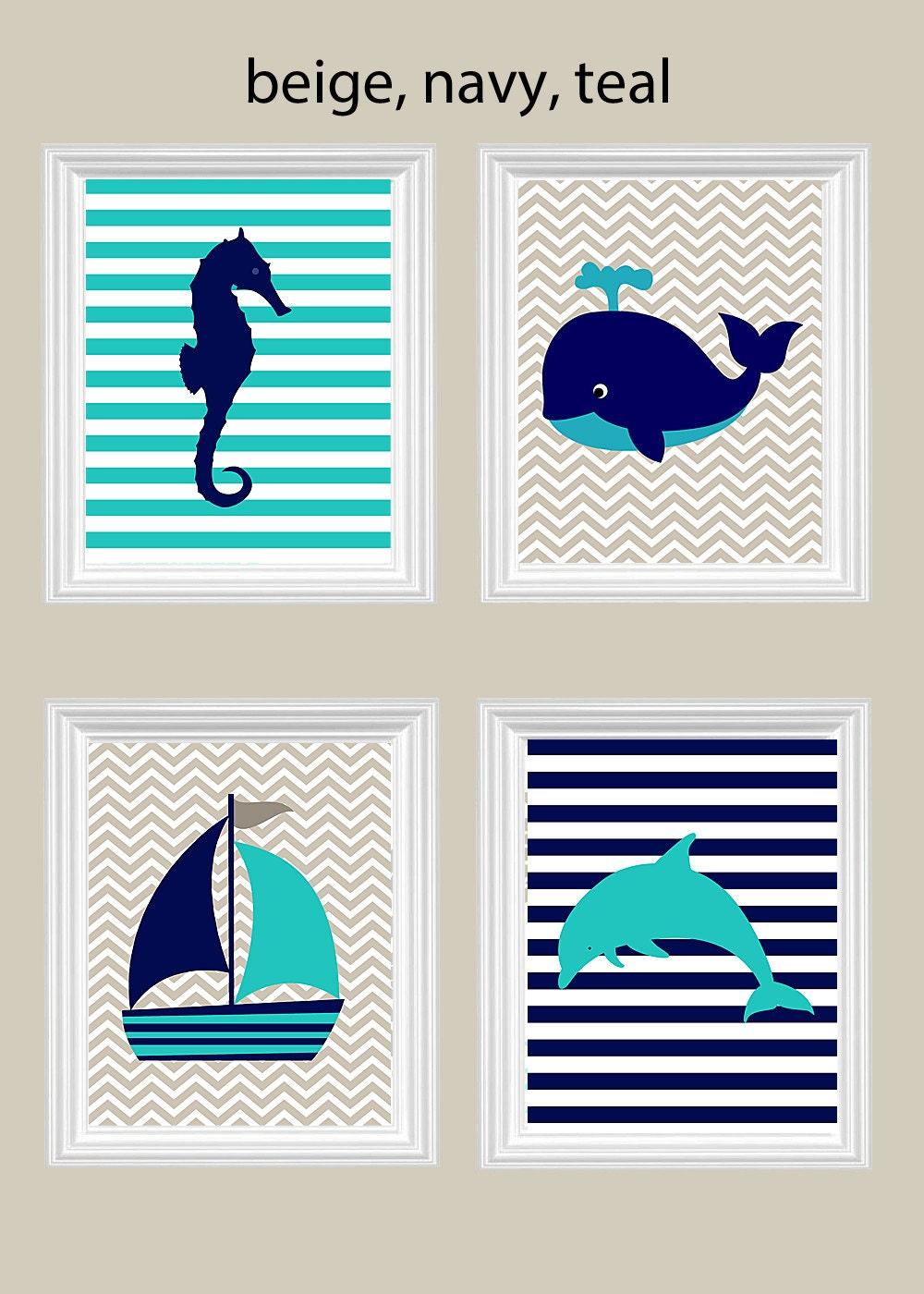 nautical nursery art nursery wall art nautical decor. Black Bedroom Furniture Sets. Home Design Ideas