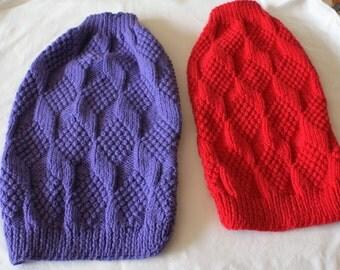 Moss stitch sweater Etsy