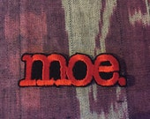 Moe. patch- iron-on patch