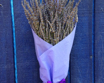 French Lavender Bouquet - Organically Grown Lavender - Weddings, Gifts, Aromatherapy