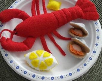 Felt Seafood Plate