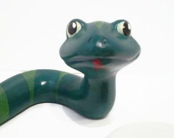 Large slithery ceramic snake. only these two available