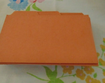 Vintage Mini Index Cards Filing Cards Office Supplies