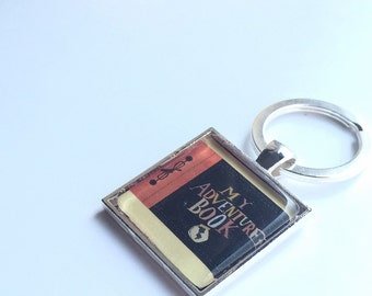 UP my adventure book inspired Keyring