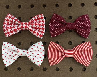 Kiki BABY Interchangeable Bow Tie / Snap onto Kiki BABY Onesie/Listing for One Bow Tie / Variety Colors
