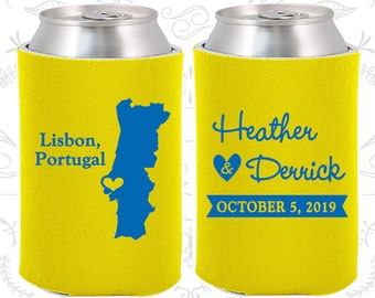 Portugal Wedding Ideas, Coolies, Destination Favors, Portugal Gifts, Portugal Wedding, Lisbon Gifts, Travel Gift (189)