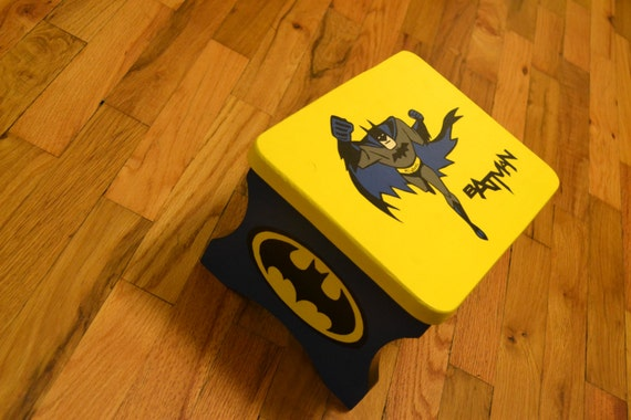 Batman Step Stool Chair Cute And Personalized With Your