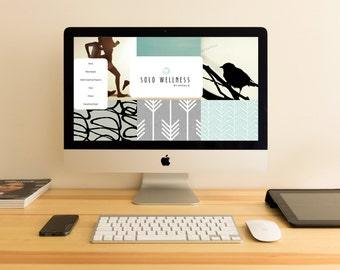 Custom Website Wordpress Design and Branding for Creatives & Photographers