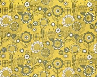 Alexander Henry - Wild Flower - #8234-I - Yellow/Sage