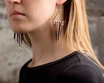 5 Point Sea Urchin Spine Earrings