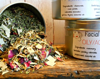 Herbal Facial Steam - All Natural Facial Steam Treatment - Herbal Beauty Cleanser - Beauty Treatment for Her - Spa Facial Steam - Spa Beauty