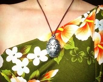 Marquesan Tiki Necklace LAST ONE