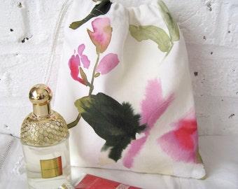 Handmade Flowers Waterproof Washbag