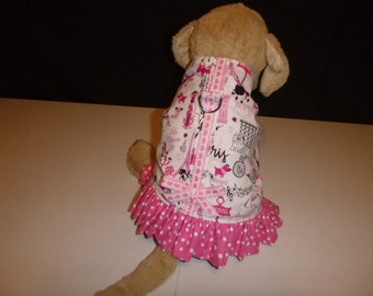 Dog Harness Dress-XS to Med Plus