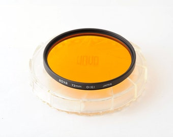 Hoya 72mm Orange O (G) Filter with Keeper
