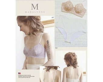 Simplicity 8229 A Misses' Underwire Bras And Panties Sewing Pattern