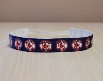 Non-Slip Headband - Red Sox 1