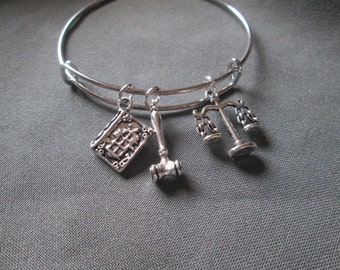 Adjustable Judge/Lawyer Bracelet