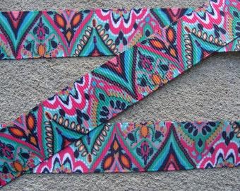 """7/8"""" Summer Ornament Ribbon Holiday Ribbon Grosgrain Ribbon Hair Bow Ribbon 3 yards"""