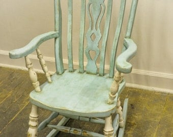 Shabby Chic Rocking Chair Pads : Items similar to Shabby Roses Chic Rocking Chair Pads on Etsy